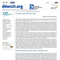 Los talentos del síndrome de Down