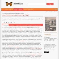 Los terremotos en Chile (1570-2010)