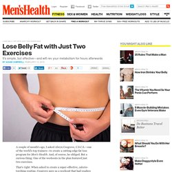 Lose Belly Fat with Just Two Exercises