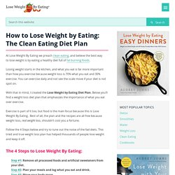 Lose Weight by Eating: The Clean Eating Diet Plan