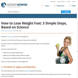 How to Lose Weight Fast: A Proven 3-Step Plan That Works