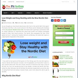 How to Lose Weight with the New Nordic Diet Plan