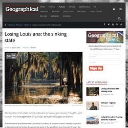 Losing Louisiana: the sinking state