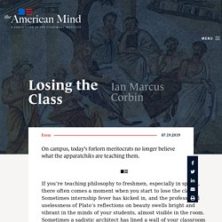 Losing the Class - The American Mind