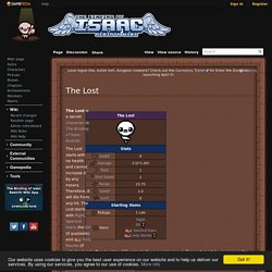 The Lost - Binding of Isaac: Rebirth Wiki
