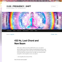 432 Hz, Lost Chord and New Beam