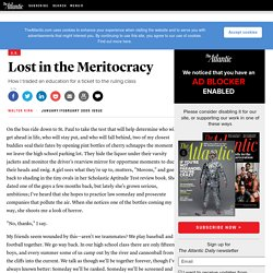 Lost in the Meritocracy - Walter Kirn