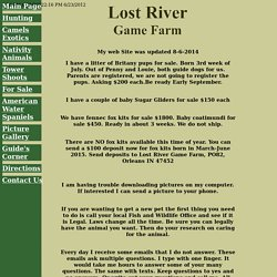 Lost River Game Farm