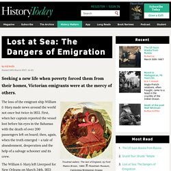 Lost at Sea: The Dangers of Emigration