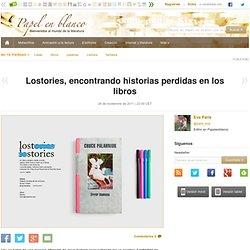 Lostories, encontrando historias perdidas en los libros