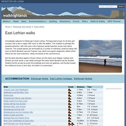 East Lothian walks