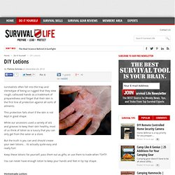 DIY Lotions - Survival Life