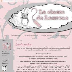 La maternelle de Laurène: Loto des nombres