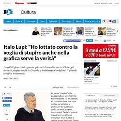 """Italo Lupi: """"Ho lottato contro la voglia di stupire anche nella grafica serve la verità"""""""