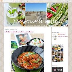 Lotte Sauce Aigre-Douce (Ikan Asam Manis)