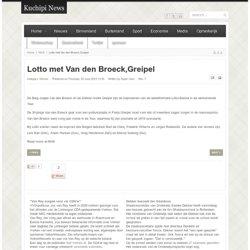 Lotto met Van den Broeck,Greipel