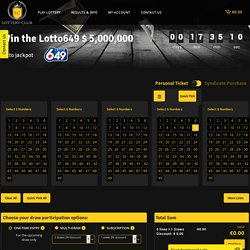 Online Lottery Canada