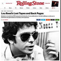 Lou Reed's Lost Tapes and Back Pages
