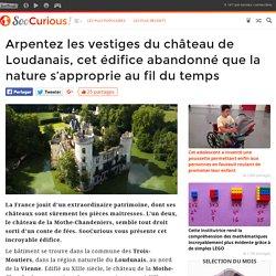 Arpentez les vestiges du château de Loudanais, cet édifice abandonné que la nature s'approprie au fil du temps