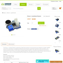 Loudness Sensor [SEN02281P]