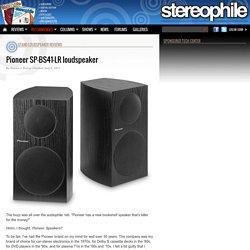 Pioneer SP-BS41-LR loudspeaker