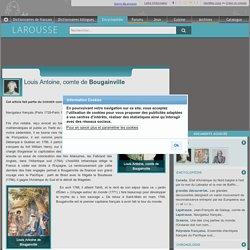 Louis Antoine comte de Bougainville