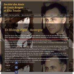 Les Amis de Louis Aragon et Elsa Triolet
