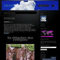 Nuage Ciel d'Azur