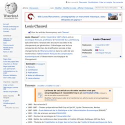 Louis Chauvel