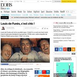 Article de l'OBS, Louis de Funès, c'est chic !