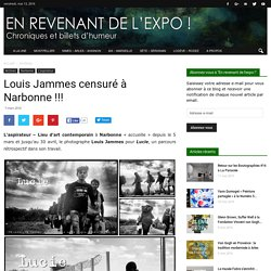 Louis Jammes censuré à Narbonne !!!