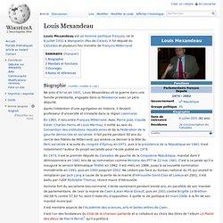 Louis Mexandeau