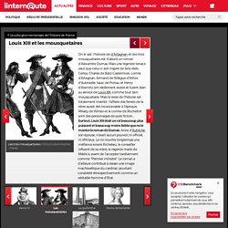 Louis XIII et les mousquetaires