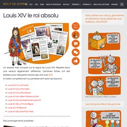 Louis XIV le roi absolu