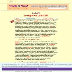 Louis XVI : le règne.