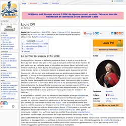 Louis XVI — Wikiberal