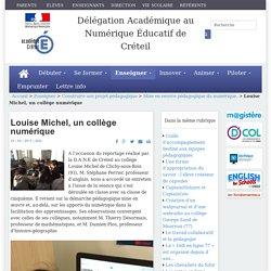 Louise Michel, un collège numérique