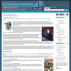 The Louisiana Purchase | Librarypoint