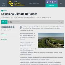 Louisiana climate refugees - Yale Climate Connections