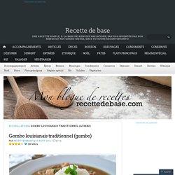 Gombo louisianais traditionnel (gumbo)