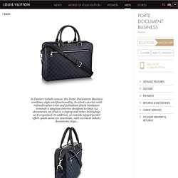 Louis Vuitton Porte Document Business