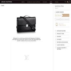 Louis Vuitton Vassili PM (LG) EPI Men's Bags