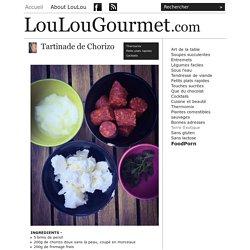 LouLouGourmet - Tartinade de Chorizo