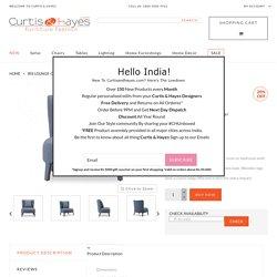Iris Lounge-chair Battleship grey Curtis & Hayes