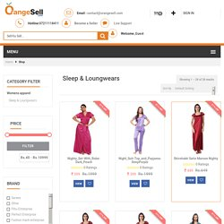 Sleep and Loungewear for Women Buy Night Gowns & Nighties Online - Orangesell