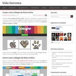 Loupe: crear collages de fotos online