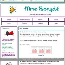 Loupe magique - Mme Bonydé