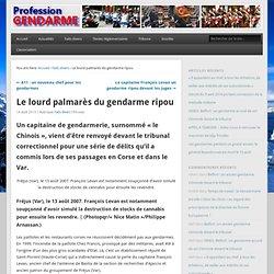 Mise en examen 2009 du Gendarme ripou