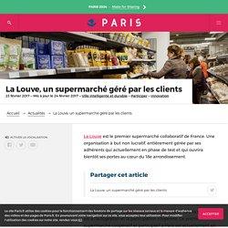 La Louve, un supermarché géré par les clients