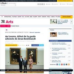 Au Louvre, la garde alternée de deux Rembrandt